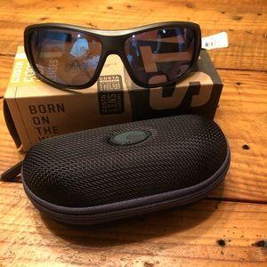 Costa Montuck blue mirror sunglasses